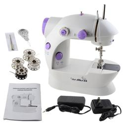 HAITRAL Mini Portable Sewing Machine with Light and Foot Ped
