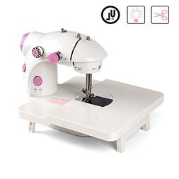 NEX Mini Sewing Machine Double Speed Double Thread Household