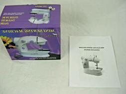 HAITRAL Mini Sewing Machine Double Thread Double Speed Porta