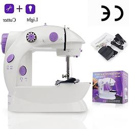 Mini Sewing Machine AKISEY Electric Household Desktop Crafti