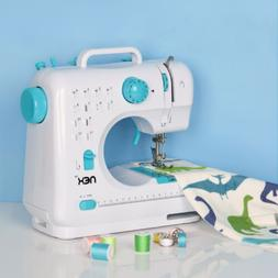 Mini Sewing Machine  Free-Arm  With 12 Built-In Stitches Blu