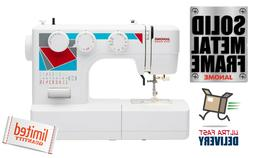 Janome MOD-19 Easy-to-Use Sewing Machine with 19 Stitches, A