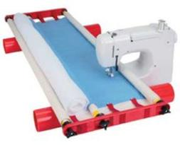 multi frame quilting system home sewing machine