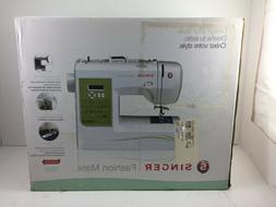 NEW Singer 7256 Fashion Mate 70 Stitch Electronic Sewing Mac
