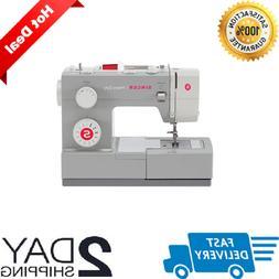 New Singer Heavy Duty Sewing Machine Industrial Portable Lea