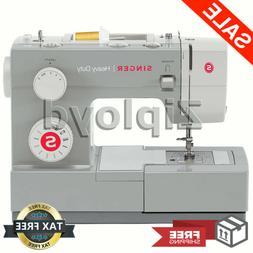 NEW Singer Heavy Duty Sewing Machine Portable Industrial Lea