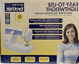 NEW Brother LS-2125i 10-Stitch Mechanical Portable Home Sewi