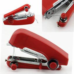 New Mini Portable Hand Held Sewing Machine Cordless Clothes