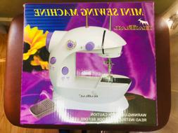 New HAITRAL Mini Sewing Machine AC/DC 2 Speed Tailor Portabl