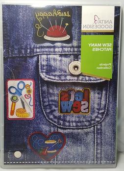*NEW* Anita Goodesign - SEW MANY PATCHES - FREE SHIP Embroid