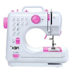 Mini Sewing Machine,FHSM-505 Free-Arm Sewing Machine with 12