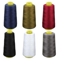 Overlocking 6 Polyester Sewing Color Thread Machine Industri