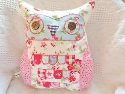 "Owl Cushion Craft Kit Large 14"" Owl Beginners Hand Or Sewing"