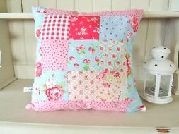 Patchwork Cushion Craft Kit Great First Hand or Sewing Machi