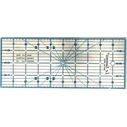 Le Summit 4 Inch X 10 Inch Patchwork Quilting Ruler Clear Ac