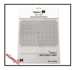 """Lance PGS-1-LAN Pattern Grading Scale Ruler,10.5""""x11.5"""", MUS"""