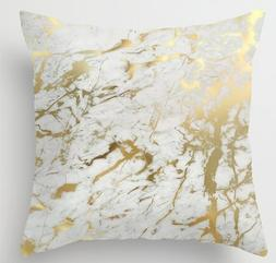 Space No. 1 Fashion Pillowcases Gold Marble Inspired by the