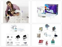 Portable Beginners Kids Adult Sewing Machine Mending Tool Wi