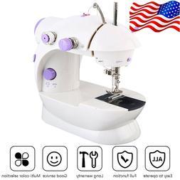 Portable Desktop Mini Electric Sewing Machine Hand Held Hous