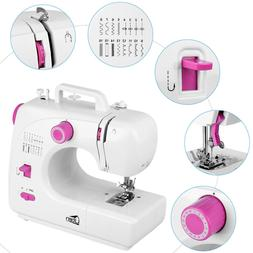 Portable Desktop Sewing Machine Household Tailor Embroidery