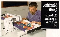 "John Flynn's Portable Machine Quilting Multi Frame W/ 48"" RA"