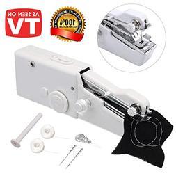 Portable Sewing Machine, Mini Cordless Handheld Sewing Machi