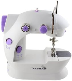 HAITRAL Portable Sewing Machine Adjustable 2-Speed Double Th