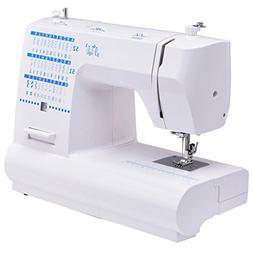 Costway Portable Sewing Machine Heavy Duty Automatic Threadi