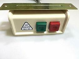 On/off Power Switch Box with Cord for Industrial Sewing Mach