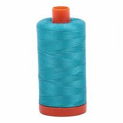 AURIFIL QUILT THREAD - 50 WT - 1422 yds #2810 Turquoise