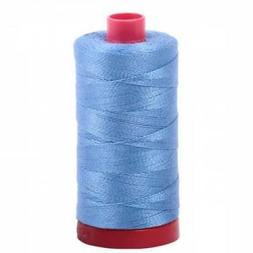 Aurifil - Quilting Cotton color 2725 Light Wedgwood 12 wt 35