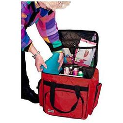 Tutto Red Serger/Accessory Bag