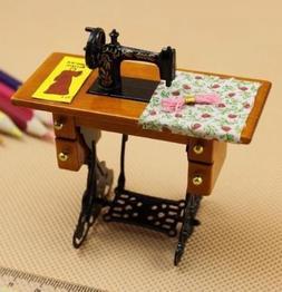EatingBiting(R)Retro Vintage Sewing Machine Dollhouse Mi