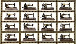 RK Sewing with Singer Machines Images 100% cotton fabric by