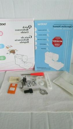 Brothers Computerized Embroidery & Sewing Machine Manuals an