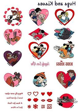 "Brother SA312D ""Hugs and Kisses"" Disney Embroidery Card"