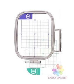 ThreadNanny SA444 7-inch x 5-inch Embroidery Hoop w/ Placeme
