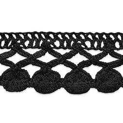 Expo International Sadie Machine Crocheted Trim Embellishmen