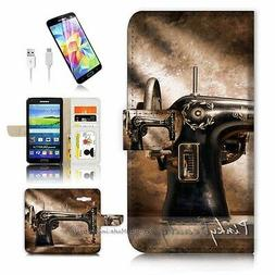 Wallet Case Cover P0673 Sewing Machine