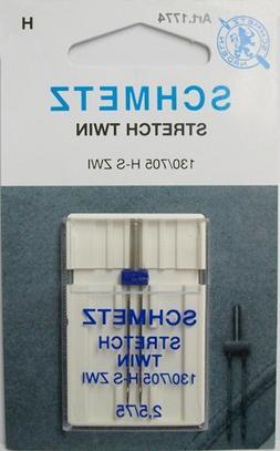 Schmetz #1774 - Stretch Twin Needle, 2.5/75