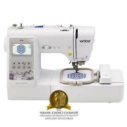 Brother SE600 Computerized Sewing and Embroidery Machine Whi
