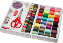 Sew 100-Piece Travel Emergency Sewing Thread Kit For Craft P