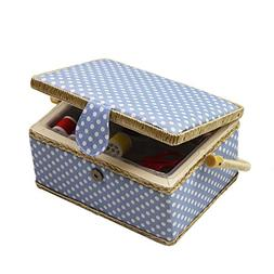 D&D Sewing Basket Kit, Sewing Box Organizer - Includes Sewin