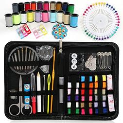Upala Sewing Kit, Over 145 Premium Sewing Supplies with Case