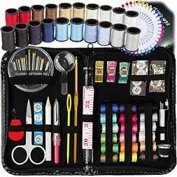 SEWING KIT, Over 130 DIY Premium Sewing Supplies, Mini sewin