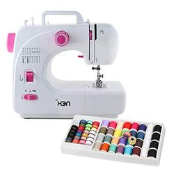 NEX Sewing Machine 16 Built-in Stitch with 60 Pcs Threads, R