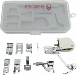 Sewing Machine Accessory Kit, Including 9 Presser Feet, Twin