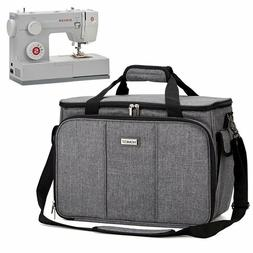HOMEST Sewing Machine Carrying Case with Multiple Storage Po