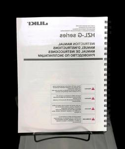 Juki HZL G110 G210 Sewing Machine Instructions User Guide Ma