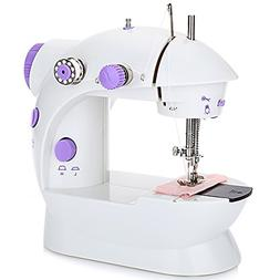 Sewing Machine,Mini Automatic Thread Sewing Machine Double S